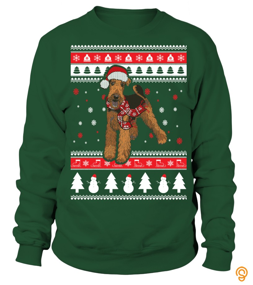 colorful-airedale-terrier-ugly-christmas-sweater-tee-shirts-buy-online
