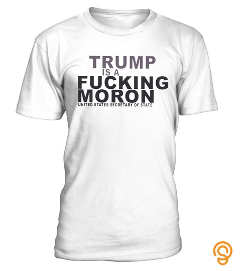 Trump Is A Moron T Shirt