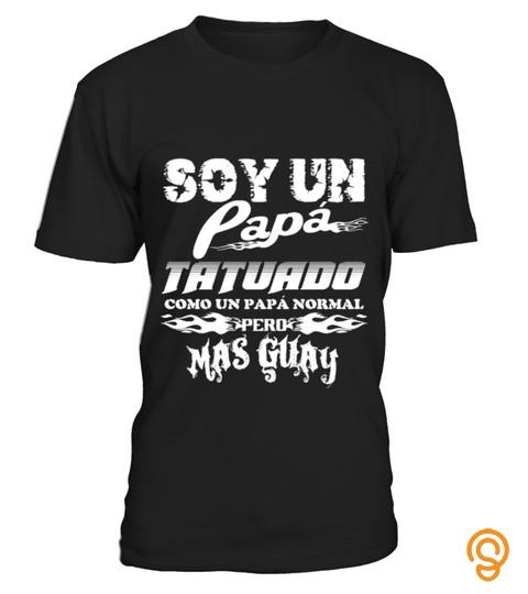 cheap-soy-un-papa-tatuado-t-shirts-graphic