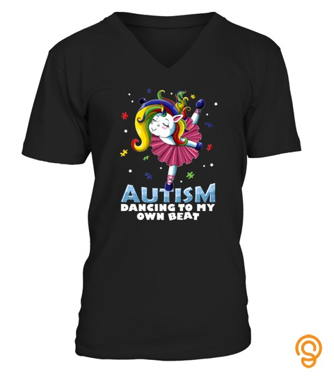Autism Awareness Unicorn T Shirt Cute Puzzles Women Girls Tshirt   Hoodie   Mug (Full Size And Color)
