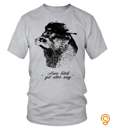 Get Otter Way   Animal Pun