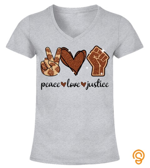 Black & Proud T Shirt, Peace Love Justice Shirt, Social Justice, Black Pride, I Can't Breathe, Black Lives Matter, Black Power, Resistance