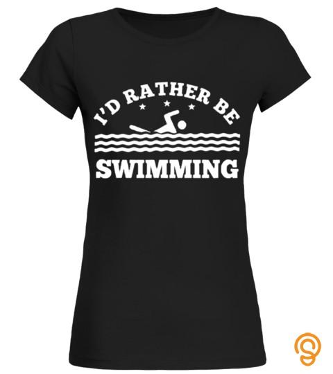 Swim Swimming Swimmer Sea  Pool  Glass Water Player T Shirt