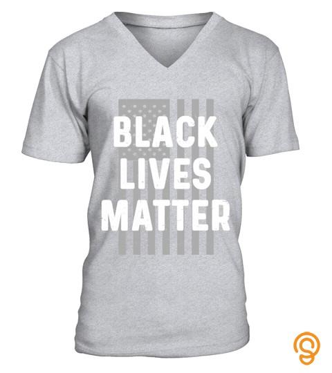 Black Lives Matter Shirt, American Flag Pride Graphic