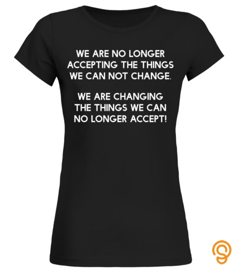 We Are The Change  Youth Empowerment  Black Lives T Shirt