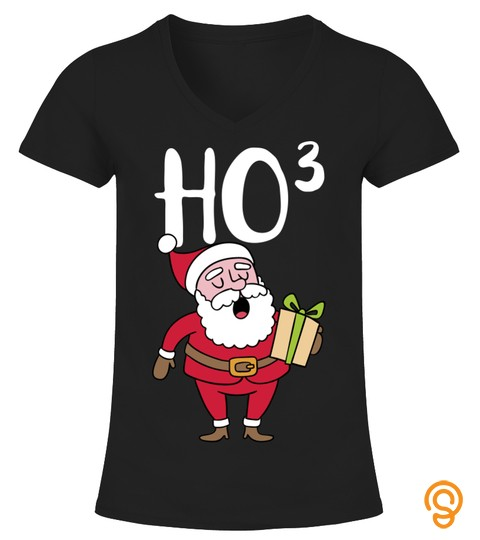 Santa Claus Ho Ho3 Cubed Christmas Xmas Gift A