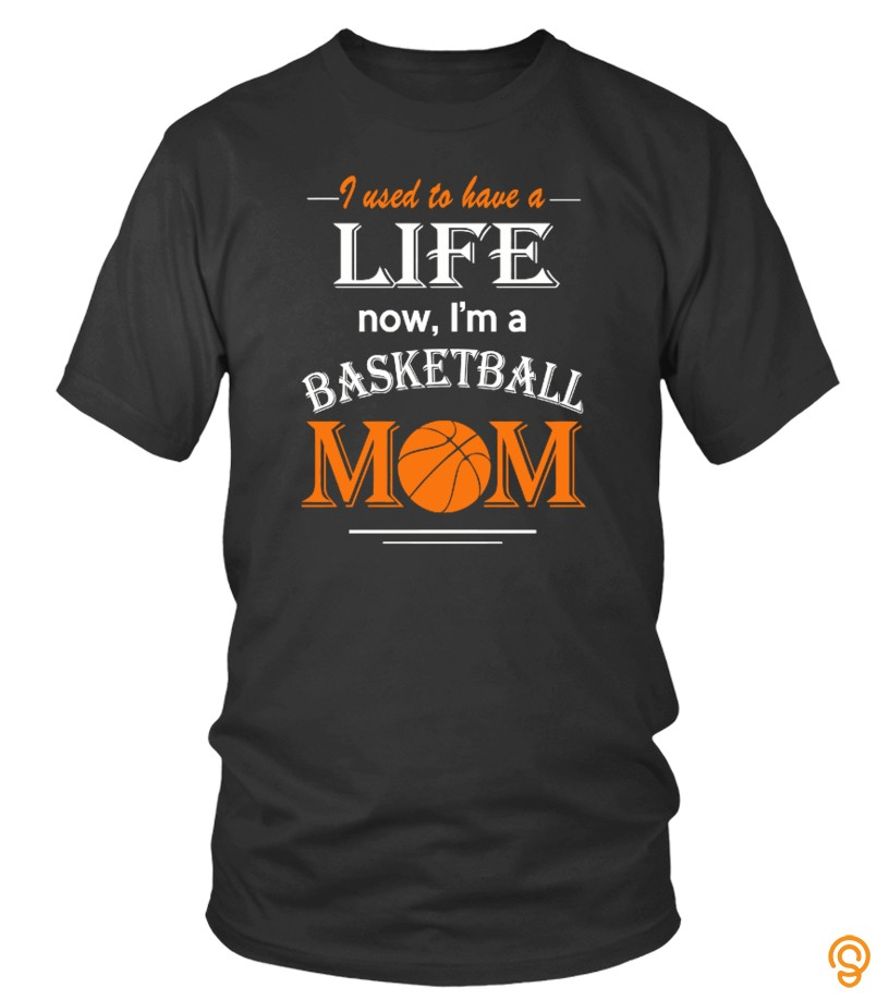 Funky Life of Basketball Mom Tee Shirts Quotes