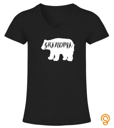 Grandma Bear Shirt Funny Camping Outdoor Tshirt   Hoodie   Mug (Full Size And Color)