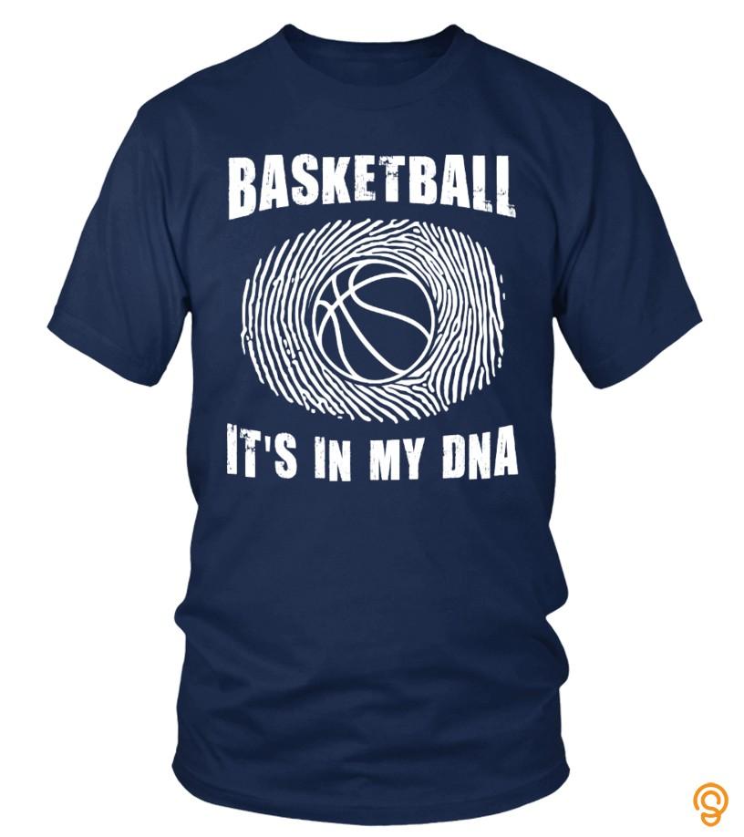 Basketball Dna T Shirt