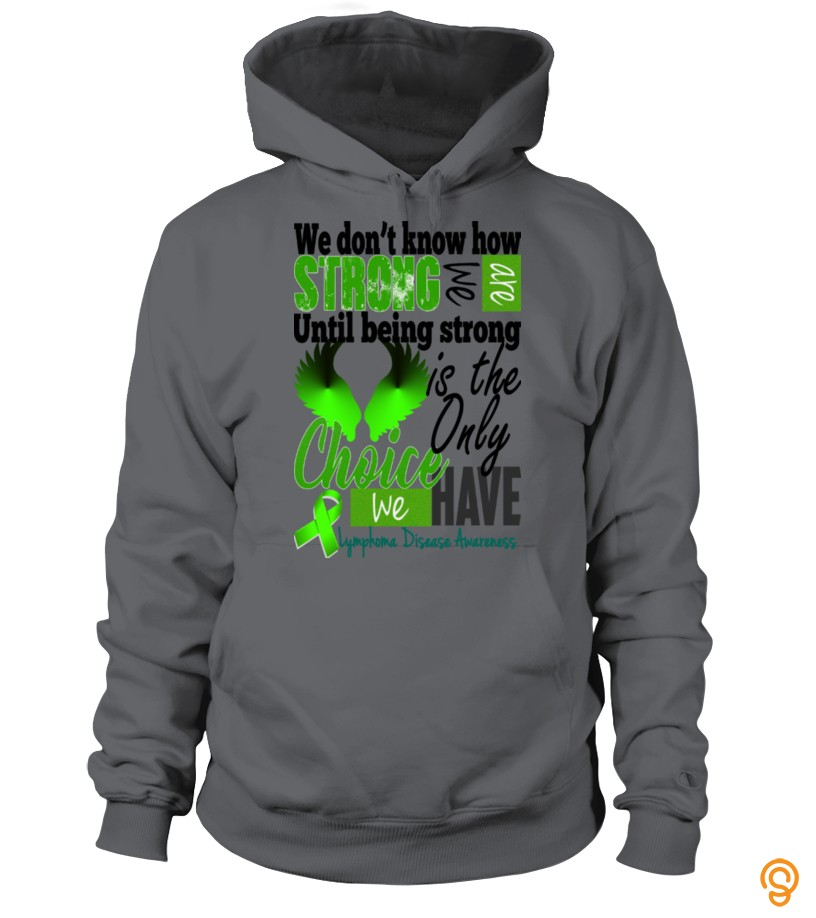 Standard Lymphoma Disease Awareness Tee Shirts Clothing Company
