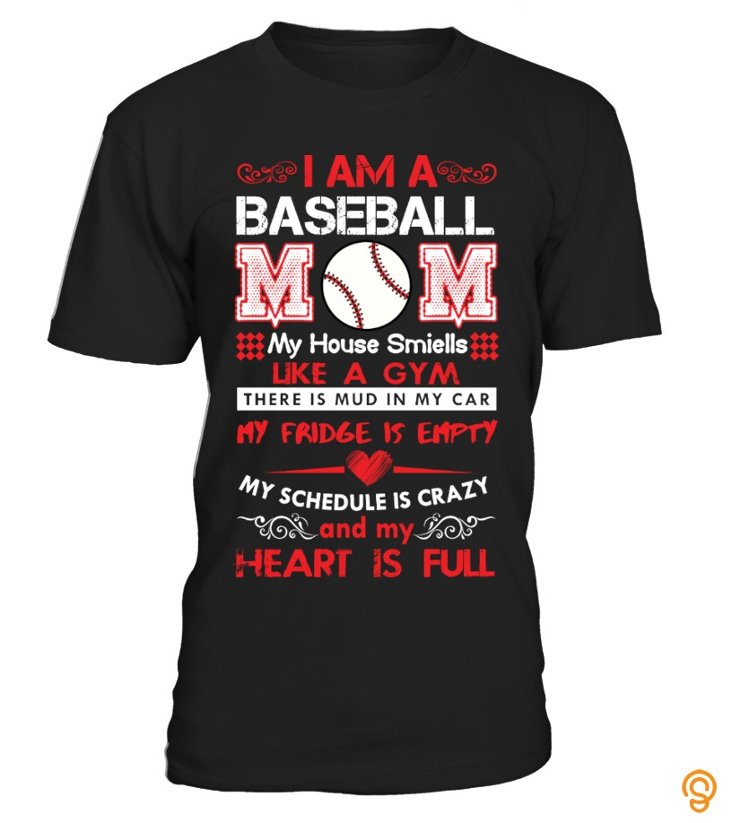 Cute Baseball Mom Shirts