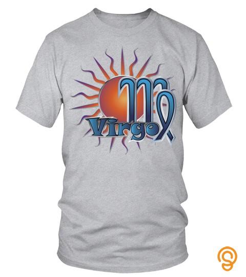 Virgo   Zodiac   Art  T Shirt