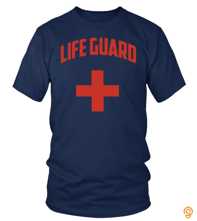 Life Guard With Red Cross