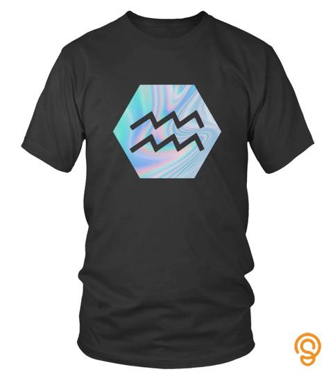 Aquarius Symbol Hologram