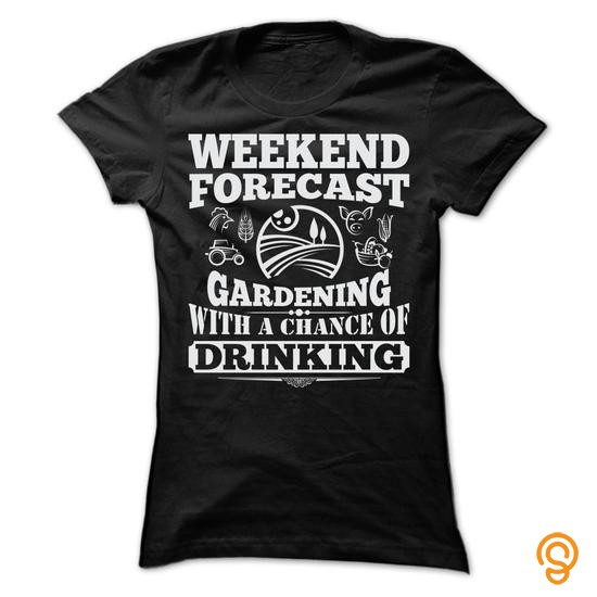 form-fitting-weekend-forecast-gardening-t-shirts-t-shirts-wholesale