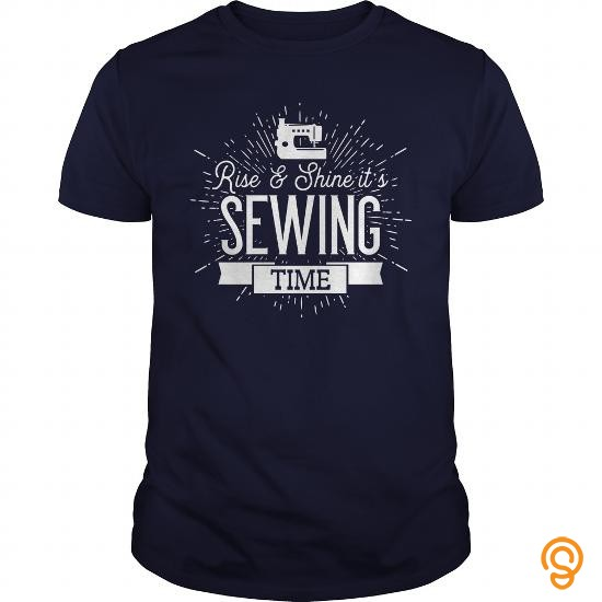 sporty-rise-and-shine-its-sewing-time-tshirt-tee-shirts-material