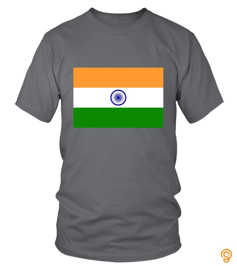 Sports Wear Flag India (dd)++ T Shirts Clothes