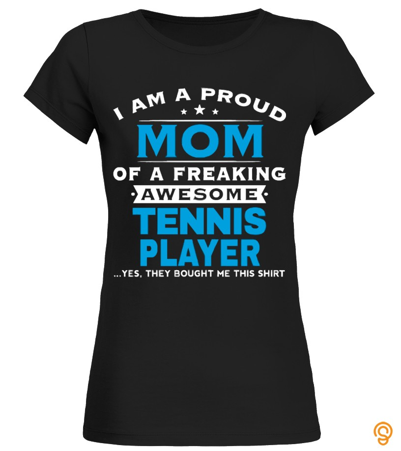Tennis Player Mom Shirt