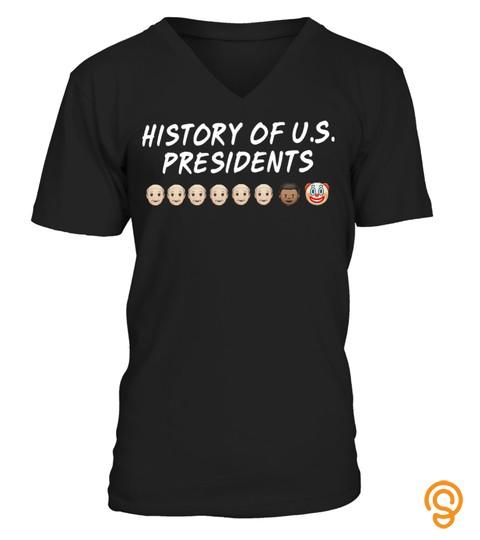 History Of Us Presidents T Shirt