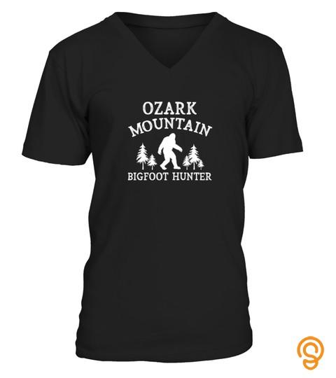 Ozark Mountain Bigfoot Hunter Tshirt Funny Bigfoot Tshirt   Hoodie   Mug (Full Size And Color)