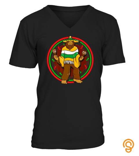 Bigfoot Funny Tshirt Mexican Funny Tshirt   Hoodie   Mug (Full Size And Color)