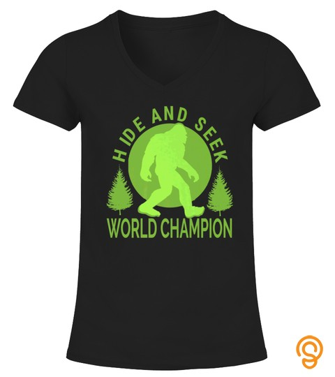 Hide And Seek World Champion Vintage Bigfoot Tshirt   Hoodie   Mug (Full Size And Color)