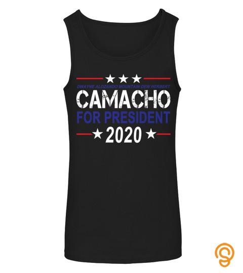 Camacho For President 2020 Presidential Election Parody Premium Tshirt