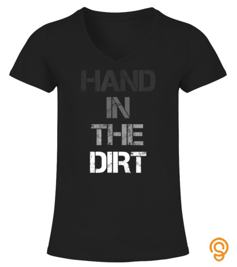 Football Lineman Shirts For Men Gloves Hand In The Dirt Tees