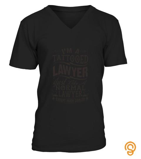 Tattooed Lawyer T Shirt