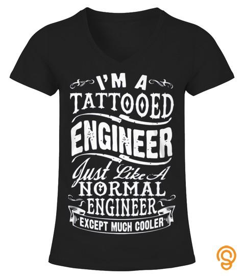 Tattooed Engineer Tshirt