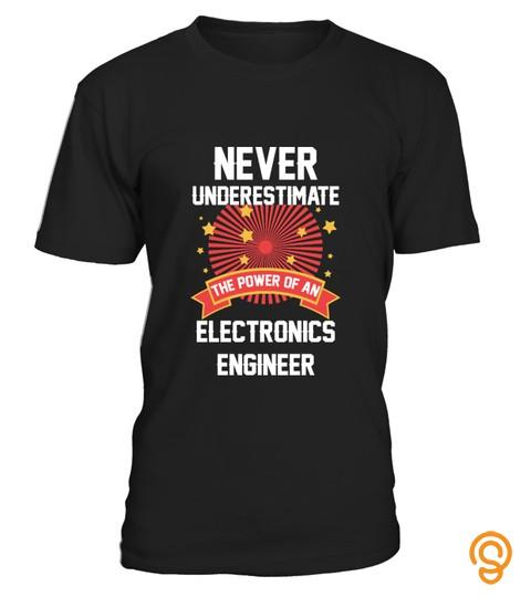Gift For Electronics Engineer Job Tshirt