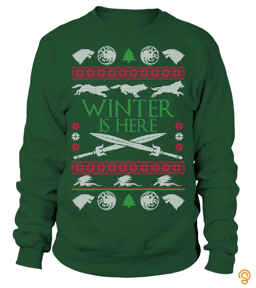 Winter is Here - Christmas Sweater