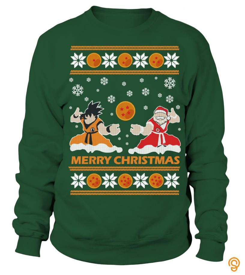 drapey-goku-santa-ugly-christmas-sweater-tee-shirts-sayings-men
