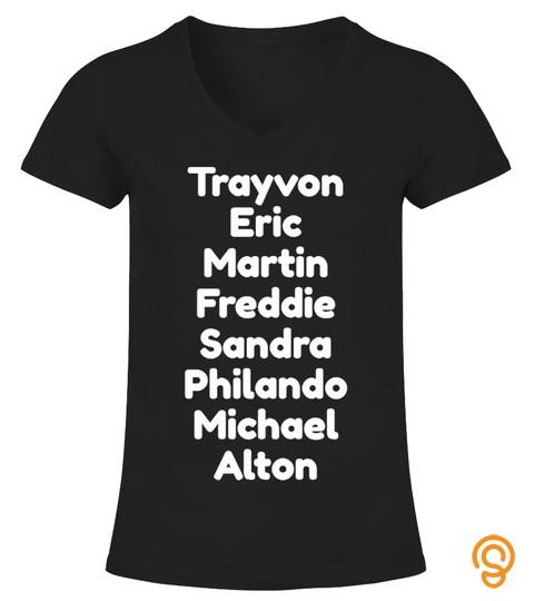 Say Their Names Black Lives Matter Shirt