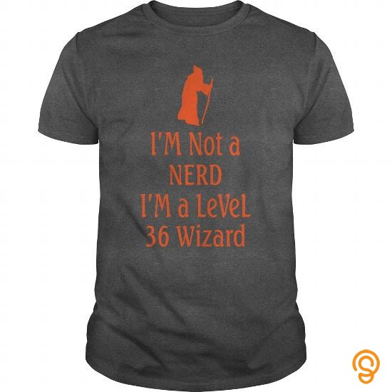 essential-i-am-not-a-nerd-i-am-a-level-36-wizard-tee-shirts-graphic