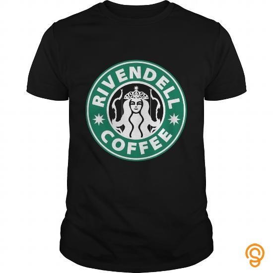 Decorative RIVENDELL COFFEE T Shirts Apparel