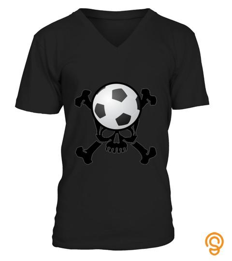 Soccer Skull T Shirt