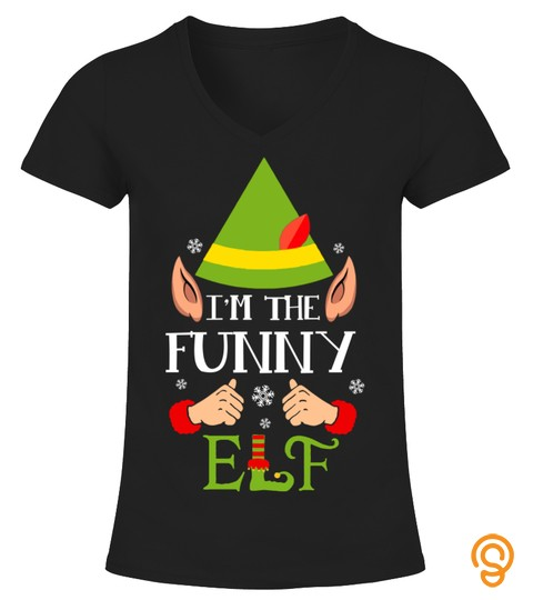 I'm The Funny Elf Matching Family Group Christmas Xmas Gift A