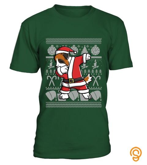Saint Bernard Ugly Christmas Sweater