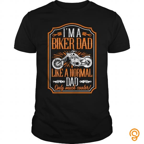 Masculine **Limited Edition** I'm a Biker Dad Tee Shirts Size Xxl