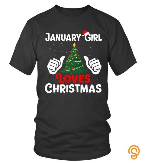 January Girl Loves Christmas