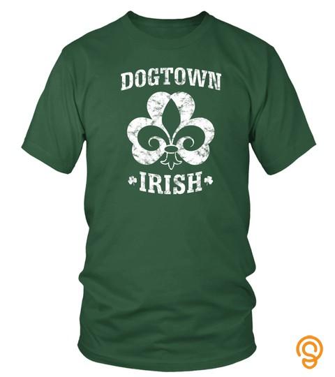 St. Patrick's Day Dogtown Irish Shirt St. Louis Dogtown