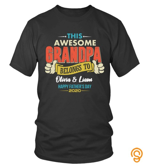 This Awesome Grandpa Belongs To
