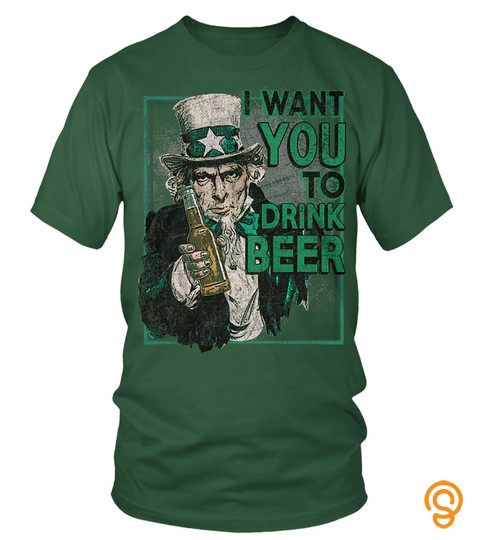 Uncle Sam Wants You To Drink Beer