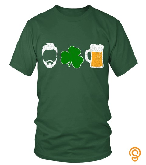 I Love Beer, St. Patrick's Day Shamrock Shirts