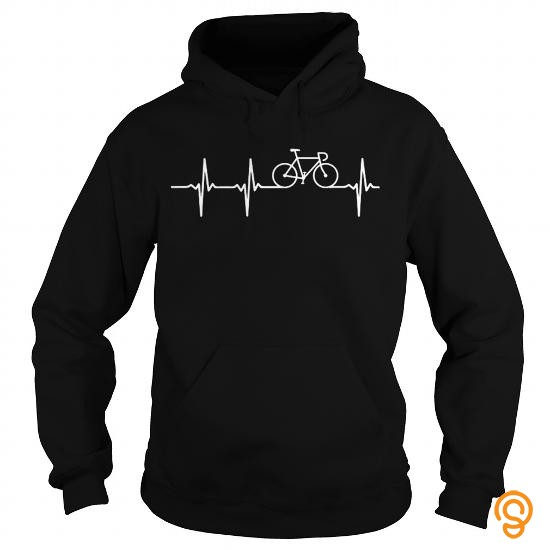 Adorable CYCLING IN MY HEARTBEAT Tee Shirts Shirts Ideas