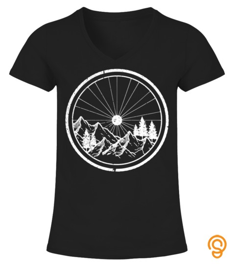 Mountain Bike Shirt   Mtb Cycling Bicycle Biking Shirt Gift T Shirt