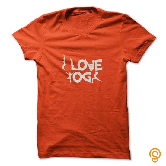 Pretty I Love Yoga Tee Shirts Quotes