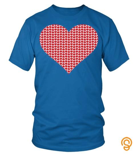 Heart Of Red Hearts Love Romance Happy Sweatshirt