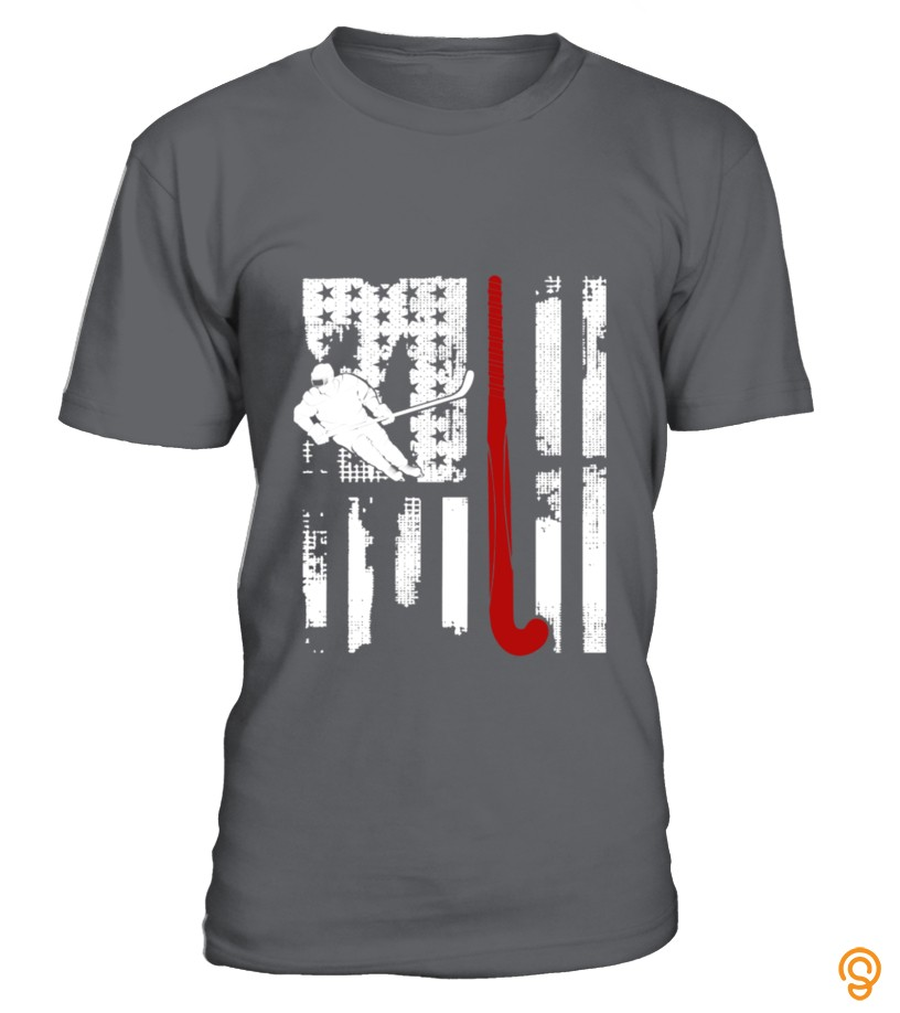 Field Hockey Flag Shirt